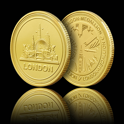 London Skyline Coin