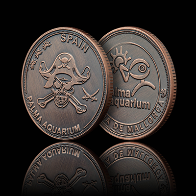 Pirates - Palma Aquarium Coin