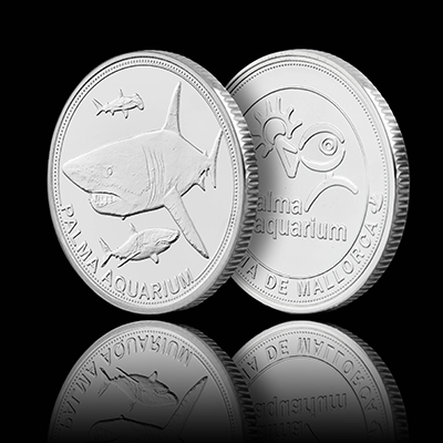 Shark - Palma Aquarium Coin