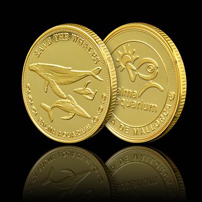 Whales - Palma Aquarium Coin