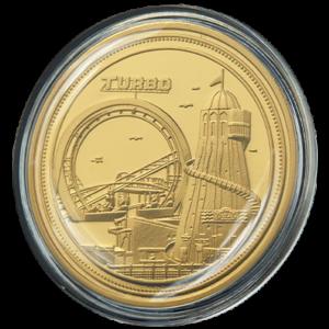 Brighton Pier Coin Gold