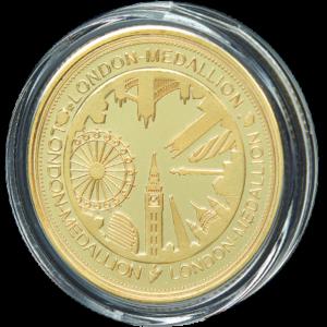 London Landmarks Coin Gold