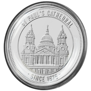 St Pauls Cathedral Coin