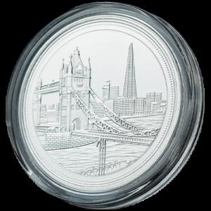 The Shard-Tower Bridge Coin Silver