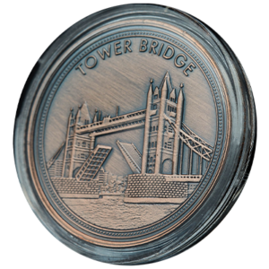 Tower Bridge Coin Antique