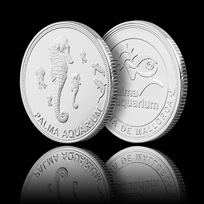 Seahorse - Palma Aquarium Coin