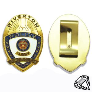 Badge Front:Back