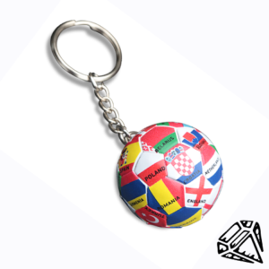 Ball Flag Keychain
