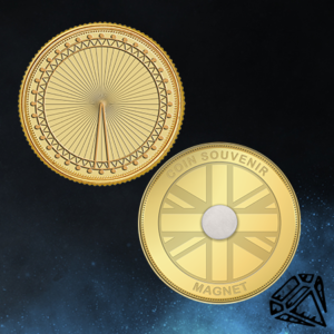 London Eye Coin Magnet